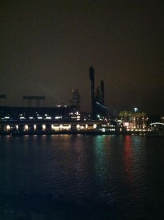 AT Park at night, Home of the SF Giants.  http://www.sfbayhomes.com #sfbayhomes.com