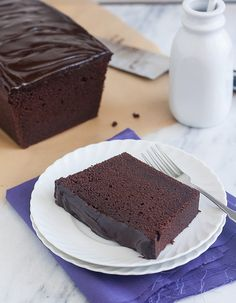 Glazed Chocolate Pound Cake by Tracey's Culinary Adventures, via Flickr