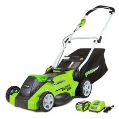 Greenworks G-MAX 40V 16 in. Lawn Mower - 25322