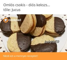 🧡Omlós csokis - diós kekszszendvics - Jucus konyhájából🧡 Food To Make, Muffin, Cookies, Breakfast, Recipes, Crack Crackers, Morning Coffee, Biscuits, Muffins