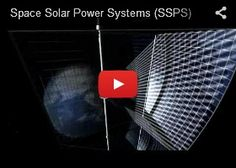 SSPS (Space Solar Power System) is technology to generate solar power in the geostationary orbit and transmit it to Earth. JAXA is engaging in research on this system.