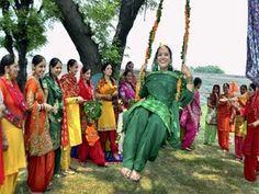 August 9 - Teej Festival