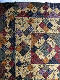 The Secret Life of Mrs. Meatloaf: Thimbleberries and a quilt room tour - The Secret Life of Mrs. Meatloaf: Thimbleberries and a quilt room tour - Primitive Quilts, Amish Quilts, Scrappy Quilts, Baby Quilts, Quilting Room, Quilting Ideas, Plaid Quilt, Homemade Quilts, Civil War Quilts