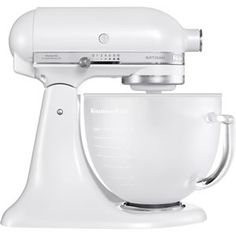 Kitchen Aid Artisan Mixer Frosted Pearl at eCookshop