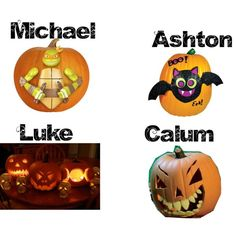 """""""5 Seconds of Summer (The pumpkin you carve together)"""" by vawesome1201 on Polyvore"""