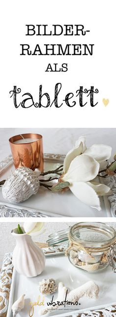 Picture frame as a decorative tray – DIY Homemade Candles, Diy Candles, Teacup Candles, Christmas Table Decorations, Milk And Honey, Fairy Lights, Mother Gifts, Fall Decor, Picture Frames