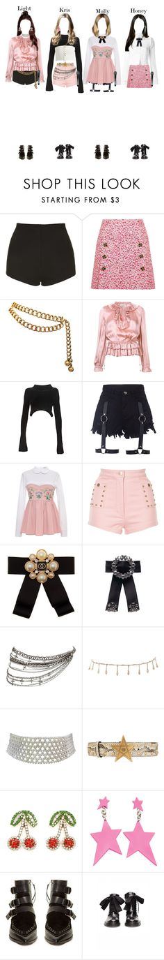 """"""""""" Whistle - Blackpink """" Cover Busking in Hongdae"""" by bubblecrew ❤ liked on Polyvore featuring Topshop, Dolce&Gabbana, Chanel, Ulla Johnson, Alexander Wang, VIVETTA, Alice McCall, Cara Accessories, Luv Aj and Marina J."""