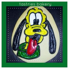 #pluto #designercookies @Tastries Bakery