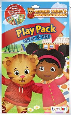 Partytoyz Inc. - Daniel Tiger's Neighborhood Grab and Go Play Pack Party Favors, $1.00 (http://www.partytoyz.com/daniel-tigers-neighborhood-grab-and-go-play-pack-party-favors/)