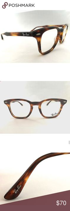9e55a65d6fa27 Authentic Ray Ban Havana Eyeglasses Frames Ray Ban eyeglasses frame! In  great condition- still