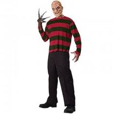 A Nightmare On Elm Street - Freddy Krueger Adult Costume Kit The basics, just to get you started. This A Nightmare On Elm Street - Freddy Krueger Adult Costu Fantasia Freddy Krueger, Freddy Krueger Mask, Adult Costumes, Wicked Costumes, Awesome Costumes, Pirate Costumes, Family Costumes, Group Costumes, Finding Nemo