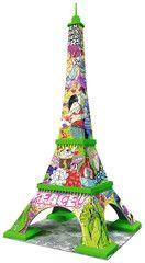 Pop Art Edition - Eiffelturm   3D Puzzles