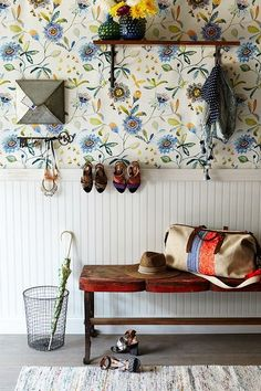 Entry Ideas from Anthropologie - at home with Ashley