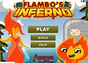 Flambos inferno Adventure Time | juegos adventure time - hora de aventura