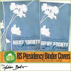 RS Presidency Binder Covers
