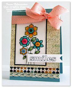 Random Acts Of Creativity: The Craft's Meow DT  also Stitched Sentiments