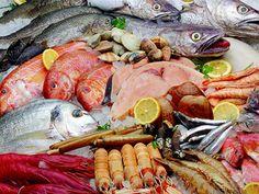 Pescados y Mariscos de Huelva