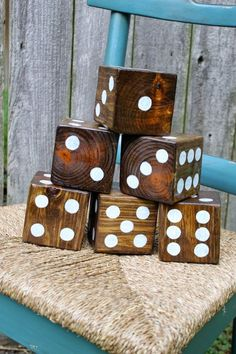 Yard Dice ~ Summer fun with the family!