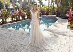 Orlando's best bridal shop with beautiful wedding dresses such as ball gowns, mermaid, lace, vintage and beach dresses. We carry plus sized gowns too! Wedding Dresses Sydney, Lace Wedding Dress, Wedding Dress Shopping, Wedding Dress Styles, Bridal Dresses, Wedding Gowns, Bridesmaid Dresses, Dream Dress, I Dress