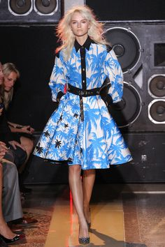 Fausto Puglisi Spring 2014 Ready-to-Wear Collection Slideshow on Style.com