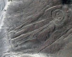 "The Space Man.   A famous theory of the Nazca Lines is that of Erich von Däniken. He suggested that the lines were built by ancient astronauts as a landing field. Identifies the pictures as signals, the longer lines as landing strips. Another idea is that the people used hot-air balloons for ""ceremonial flights"" to view their creations. The Lines may have been ritual centers-helping the dead achieve immortality, an offering to the gods, a major pilgrimage site.'"