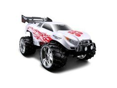 Dune Blaster in White (1:16 scale) Radio Controlled Car. Full function radio control. Big off-road tyres. Comes with all required batteries.