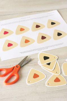 Printable Purim Gift Tags by ChaiAndHome on Etsy