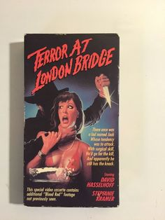 Terror At London Bridge (VHS,1986) David Hasselhoff RARE!