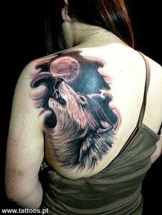Wolf Tattoos Pictures