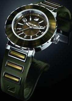 max swarovski octea sport ultra khaki limited edition watch