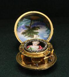 Antique Pocket Watch-Louvre Museum