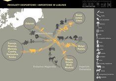 Towary eksportowe i importowe w staropolskim Lublinie #jarmark #Jagiellonowie #jarmarkjagiellonski #handel #trade #money #Lublin #Europe #thisday #infographic