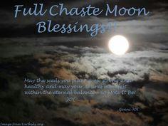 Full Chase Moon blessing
