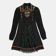 Stud Collar Dress - Alternate View A1