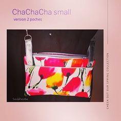 sacsetpacotilles ChaChaCha , petit sac bandoulière 2poches .