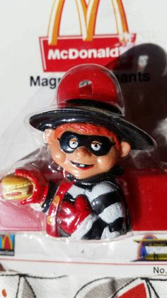 McDonald's HAMBURGLAR magnet by LittleCrowStudios on Etsy