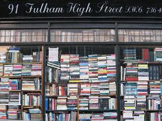 Fulham book shop (Near Putney BridgeTube station) - hours of enjoyment!