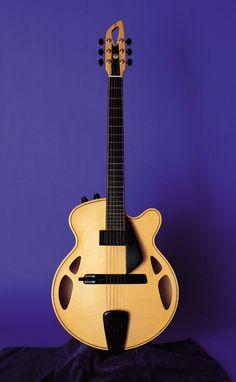 Melo Guitars JM1  #LardysChordophoneOfTheDay #Guitar ~ https://www.pinterest.com/lardyfatboy/lardys-other-fretted-chordophones-of-the-day/ ~  Custom Instruments ©