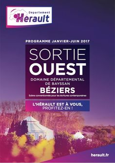 Programme SortieOuest - Béziers de janvier à juin 2017