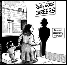 Equal Opportunity for Idealized Employees (click thru for analysis)