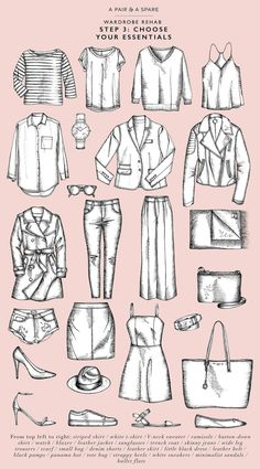 Wardrobe essentials are foundational items in your closet that transcend seasons and are the starting point of all your outfits. Having a closet rich in important wardrobe essentials is the number one