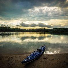 Kayaking Lake James State Park