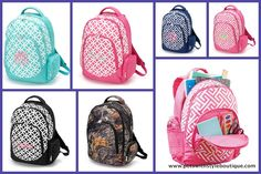 Backpacks Personalized with Monogram or Name... www.petswithstyleboutique.com