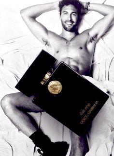Noah Mills and Dolce&Gabbana Perfume, Magazine Antidote Fall Winter 2014 -