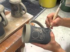 Colectivo Coffee Mugs by Jean's Clay Studio - Limited Edition 2013 - YouTube