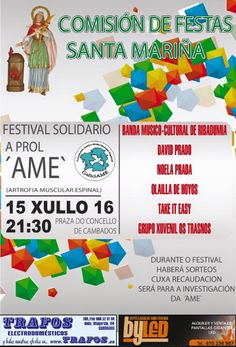 CORES DE CAMBADOS: FESTIVAL SOLIDARIO A PROL DE GALICIAME