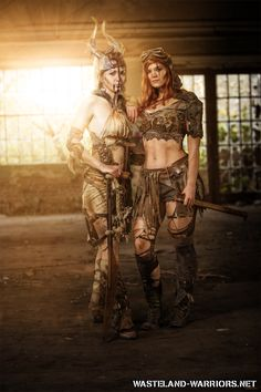 Sisters in Arms by Wasteland-Warriors on DeviantArt Post Apocalyptic Clothing, Post Apocalyptic Costume, Post Apocalyptic Fashion, Mad Max, Morgana Le Fay, Marla Singer, Imperator Furiosa, Wasteland Warrior, Fallout