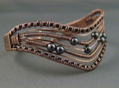 dark night2 by Margaret Roper on Copper Wire Jewelers - gorgeous!