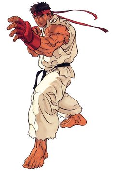 Ryu - Characters & Art - Street Fighter III