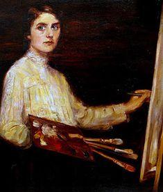Women in the Act of Painting: Lluïsa Vidal i Puig